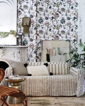 海外のFlowerlyな壁紙コーデ集♡素敵な壁紙でウォールインテリアをセンスアップ!