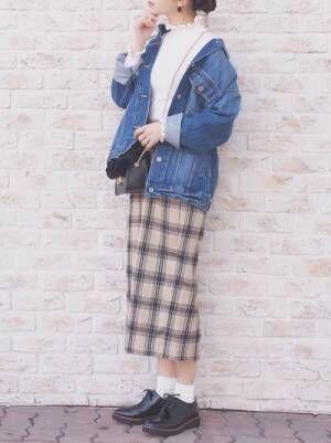【GU】から抜粋!プチプラスカートの着こなし15選☆