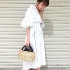 持つだけかわいい♡【かごバッグ】おすすめと着こなし例をまとめて公開!