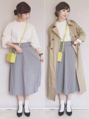 【GU】のスカートが優秀すぎる!プチプラアイテムを春ファッションに取り入れよう♡
