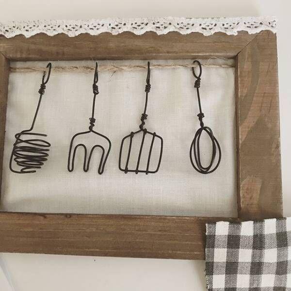 キュートなモチーフが簡単に作れる♡今注目のワイヤークラフトをご紹介!