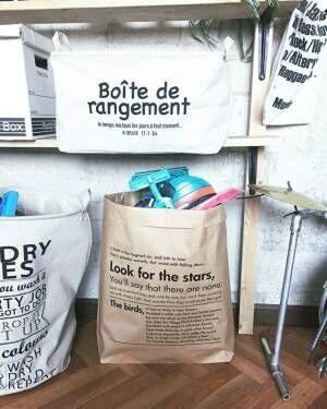 「袋収納」で簡単にお片づけ!プチプラアイテム収納実例をご紹介☆