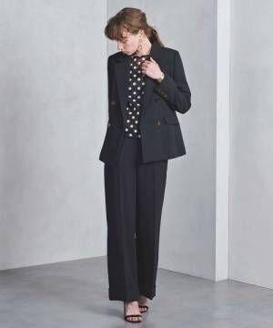 働く大人女性へ♡セットアップで時短しながら上品なオフィスコーデに挑戦!