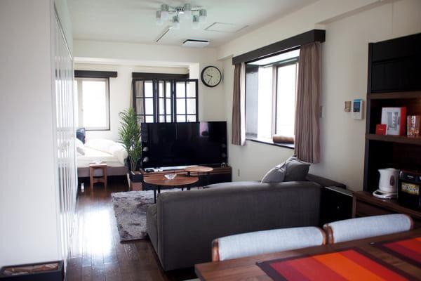 お部屋のアクセントにもオススメ♪オシャレなカーテン・パーテーションがある素敵な暮らし