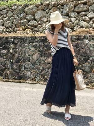 シンプルコーデは小物で決まる♡春夏おすすめのおしゃれ帽子&バッグをご紹介