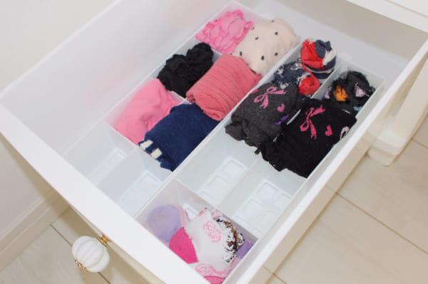 悩ましい靴下収納。使いやすく、片付けやすい収納方法&アイディア大公開♩