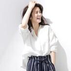 白シャツ&ブラウスで作るおしゃれコーデ☆洗練された上品スタイル15選