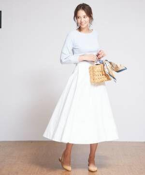 レディースファッションまとめ!絶対かわいい2018春のスカートスタイル特集