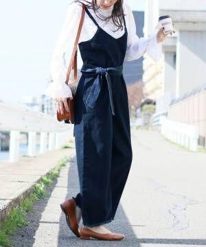 おしゃれ上級者さんはこう着る!大人女子のためのデニムサロペット・オールインワンコーデ15選
