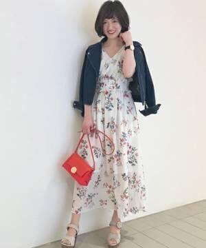 花柄ワンピで春デートに出掛けよう♡大人可愛いコーデまとめ!