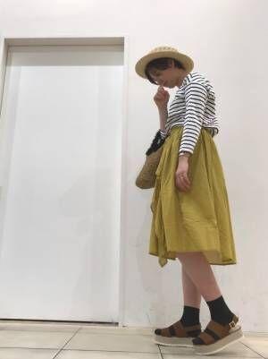 帽子のちょい足しで季節感を上げよう♪カンカン帽を使った大人女子コーデまとめ!