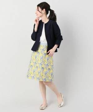 大人の必須アイテム☆「ノーカラージャケット」に合わせる素敵なコーディネートをご紹介