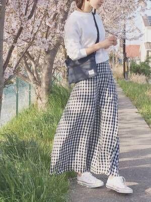 【ユニクロ・GU】のアイテムで高見えが叶う!おしゃれ女子のお手本春コーデ♪