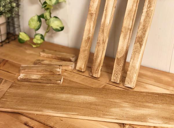 【連載】100円グッズの木材をおしゃれなスタンドを作ろう