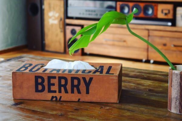 【連載】塗らずに貼ろう!100均セリアの木製ティッシュボックスケースをおしゃれにリメイク!