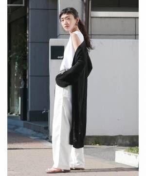 モードなモノトーンコーデ♡クールにかっこよく着こなすきれいめ女子になろう♡