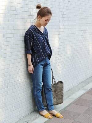 春夏の大人カジュアルに「シャツ・ブラウス」は欠かせない♡シャツ・ブラウスコーディネート15選
