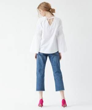 春夏に頼れる白ブラウス!豊富なデザインと着こなし例をチェック♡