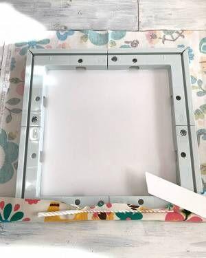 部屋のポイント作りに☆ファブリックパネルをおしゃれに飾るアイディア集