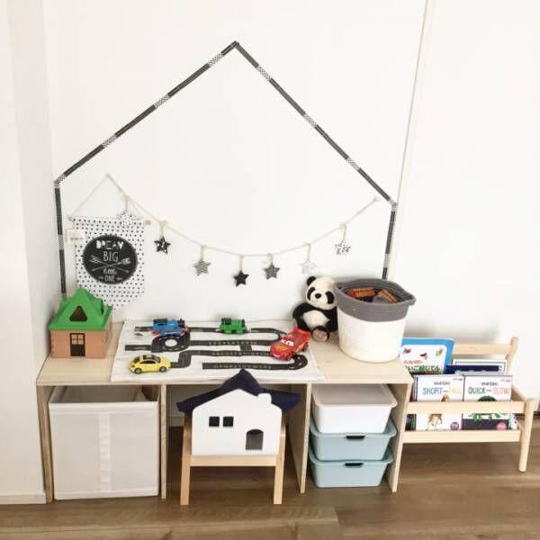 これでスッキリ!ごちゃごちゃしがちなおもちゃが片付く収納方法をご紹介☆