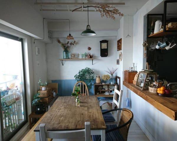 いつもの食卓をオシャレにしたい!こだわりとセンスを感じさせるカフェ風ダイニング