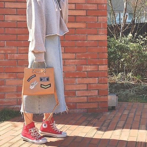 即・おしゃれさんの仲間入り☆コンバースのスニーカーを使ったコーディネート