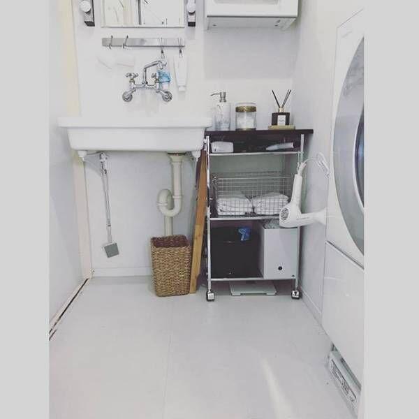 サニタリールームを心地いい空間に!素敵なインスタグラマーの実例&収納術をご紹介