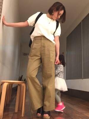 ヘビロテ間違いなし!2018春夏ユニクロで人気のトップス5選&コーデ集☆