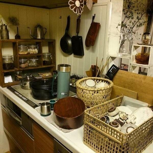 かご収納のアイデア特集☆部屋のテイストに合わせて適切なかごを選ぼう!
