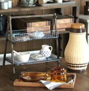 【連載】お家カフェのお供にいかが?おしゃれなワイヤーラックDIY
