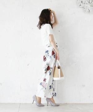春を鮮やかに彩る♡フェミニンな花柄アイテムでおしゃれを楽しもう♡
