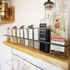 キッチンをおしゃれで便利に!食器や調味料の収納に使える100均DIY