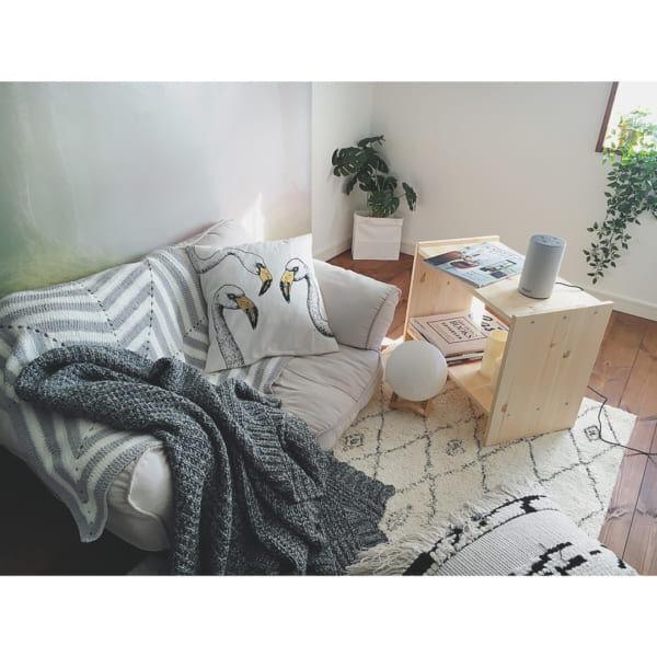 床の上が落ち着く♪お部屋を広く見せてくれる、快適なロースタイルインテリア