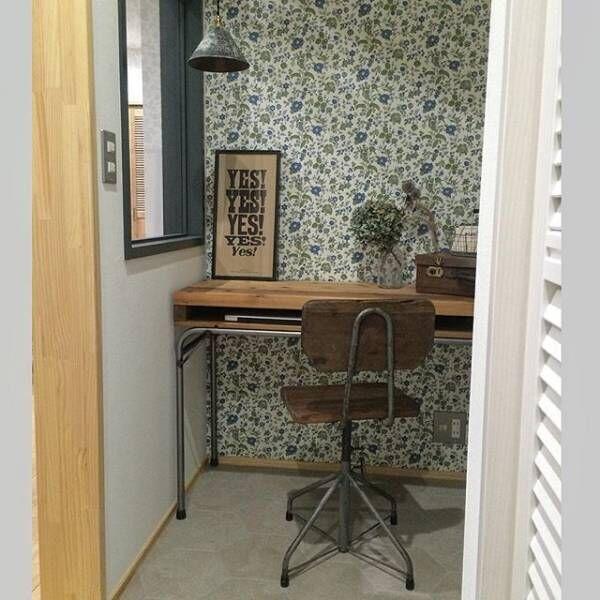 私だけの秘密基地☆作業が捗りそうな素敵なデスク・書斎をご紹介します!