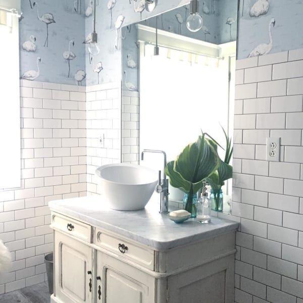 こんなパウダールームとトイレが欲しい!ハイセンスなサニタリー空間15選