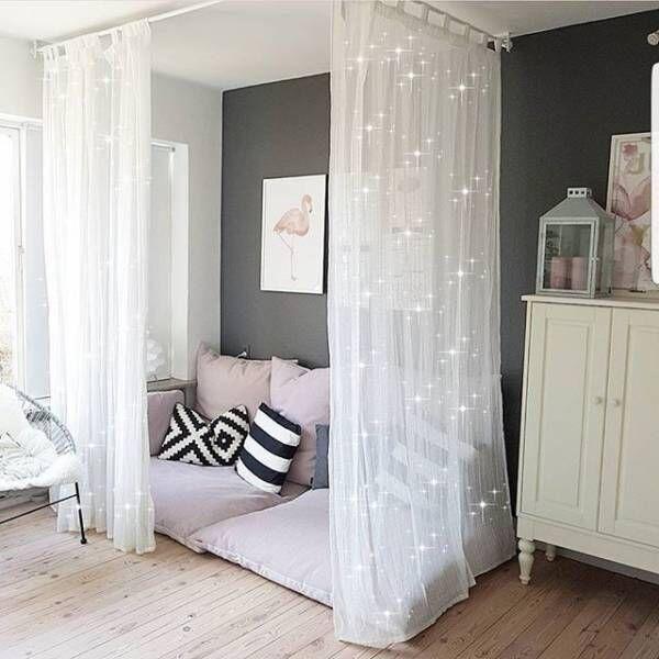 簡単におしゃれな空間作り☆カーテンとタッセルでお部屋のイメチェン特集