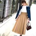 GUのスカートがコーデに大活躍♡プチプラでトレンド感をゲットしよう!
