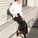 【2018春夏】クールなシャツでハンサムコーデ☆マニッシュな雰囲気が女度UP♪