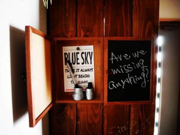 【セリア】のアイテムでかっこよく♪黒板を使ったDIYアイディア8選
