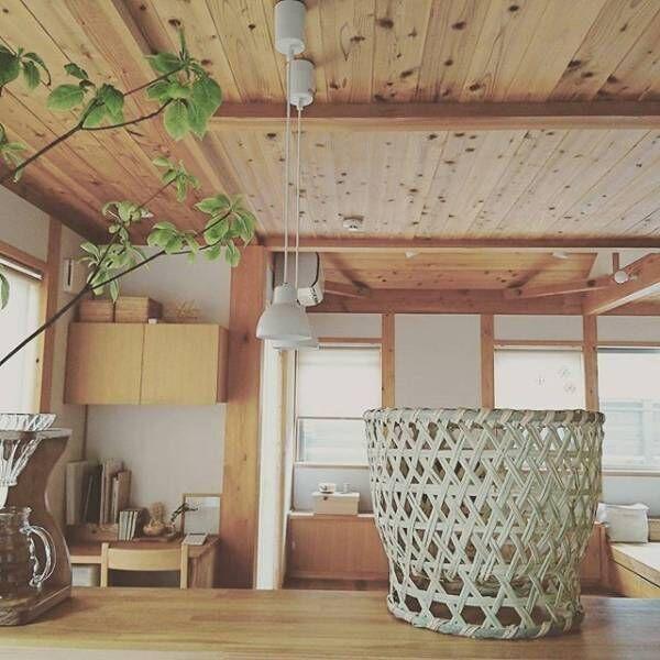暮らしの主役は「wood」。木材を活かした温もりのあるインテリアの中で暮らそう。