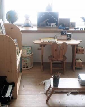 自分だけの場所を子どもに作ってあげよう☆素敵なキッズデスク活用例