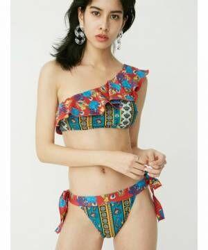 今年のスイムウェアはもう決まった?人気ブランドで見つけた《最新トレンド水着》をご紹介♡