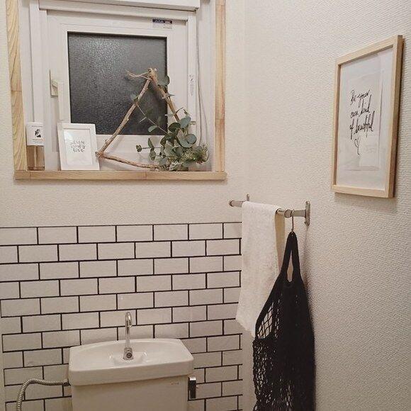 100均グッズで作るおしゃれスペース♪DIYでトイレをランクアップさせよう!