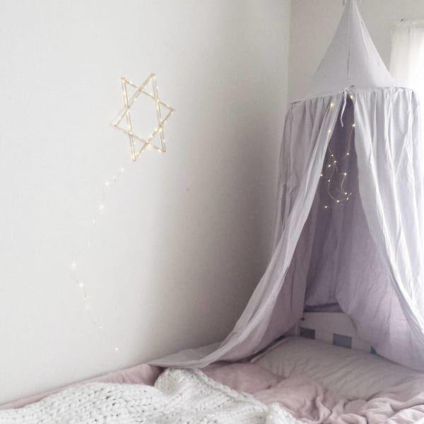 チェーンライトで簡単に☆お部屋をおしゃれで癒される空間にしよう!