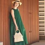 グリーンが周りと差をつける!ビビッドが映える夏、緑に夢中♪