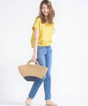 春夏のトレンド♡「ビビッドカラートップス」を使ったコーデをご紹介