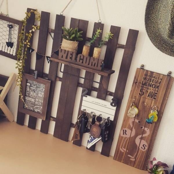 DIY初心者ならまずはここから!簡単すのこリメイクでおしゃれな家具を作ろう☆