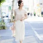 春夏をコーデを満喫する☆ピンクベージュトップスに合わせた大人の着こなし術15選