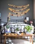 3coinsや100均のライトでも作れる♪海外のようなライティングでロマンチックなお部屋作り♡