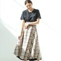 トレンドアイテムでオトナ可愛いを作ろう!「ラップスカート」を取り入れた春夏スタイル♪